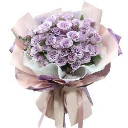 33朵紫玫瑰,红尘恋不解缘