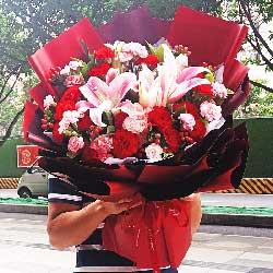 19朵康乃馨,祝福你每一天都快乐