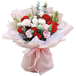 19朵玫瑰,今生与你相遇