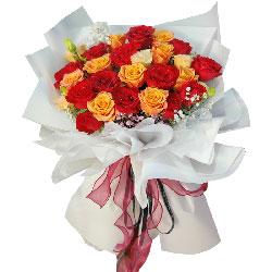 22朵玫瑰花,美好的幸福