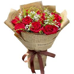 11朵红玫瑰,永远不变的男人