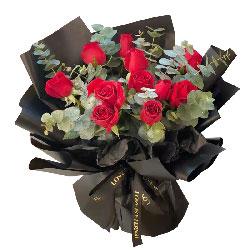 11朵红玫瑰,爱你是一生一世