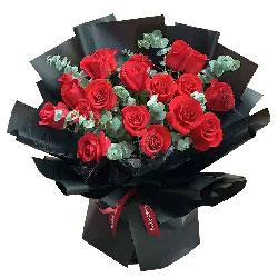 17朵红玫瑰,爱你永远