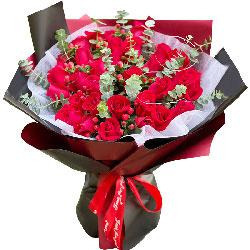 29朵红玫瑰,愿意与你相爱一生