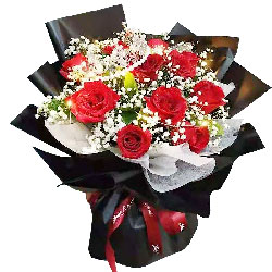 11朵红玫瑰皇冠,声声是对你的爱