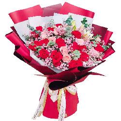 22朵玫瑰花,相互的约定