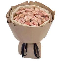 33朵卡布奇洛玫瑰,人生都有你