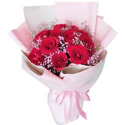 11朵红玫瑰,和你牵手走过天涯海角