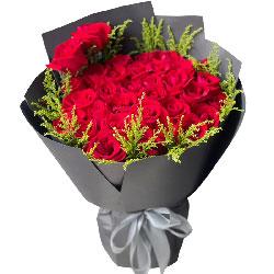 33朵红玫瑰,平平淡淡就是真