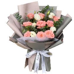 11朵玫瑰,爱你的心不变