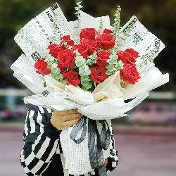 18朵红玫瑰,你我的情缘