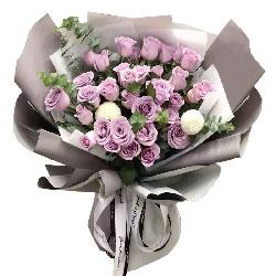 33朵紫玫瑰,爱情小天使