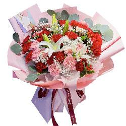 33朵康乃馨,永远爱您