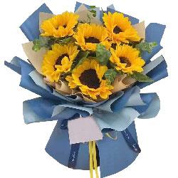 6朵向日葵,追求属于你的未来